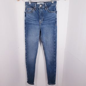 NEW TOPSHOP Girl's Skinny Jeans 12 Large